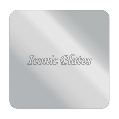 Square Aluminum Label