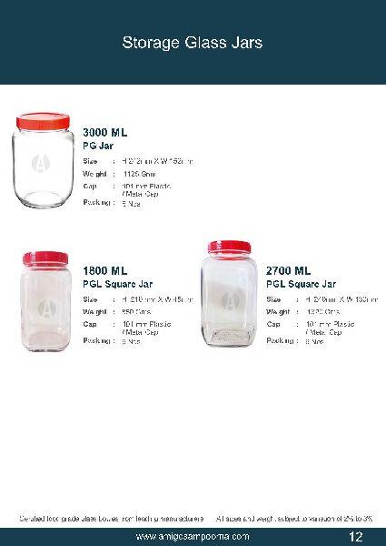 Storage Glass Jars