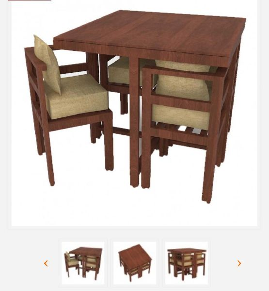 Modern 4 Seater Dining Table By Rts Furniture Manufacturing Modern 4 Seater Dining Table Id 5409515