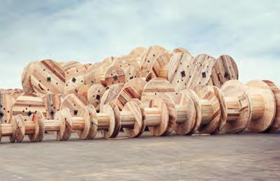 Wooden Reels