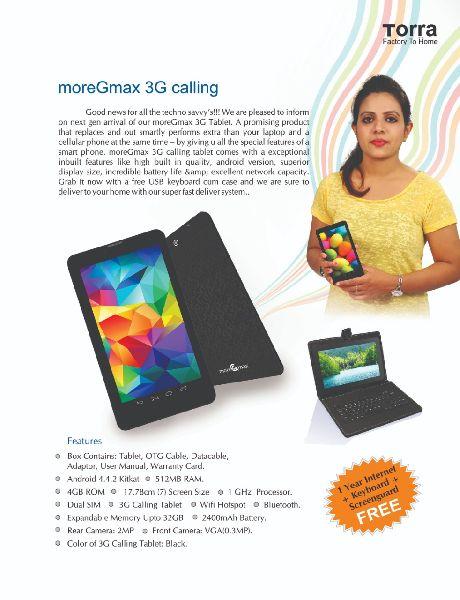 3G calling Tab (TTB001)