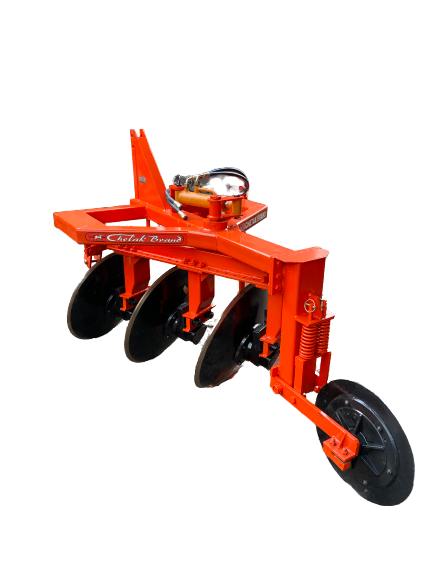 Hydraulic 3 Bottom Reversible Disc Plough