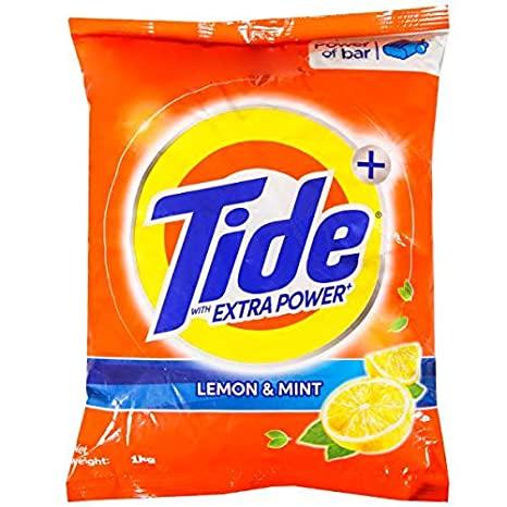 Lemon & Mint Tide Detergent Powder