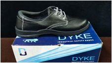 Dyke Eco White Safety Shoes