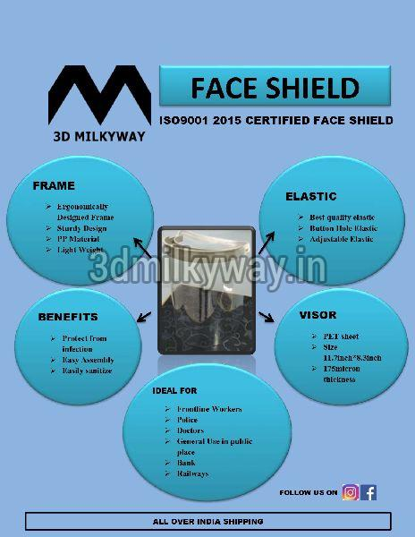 Manufacturer In Nagpur: ISO CERTIFIED Face Shield Manufacturer In Nagpur