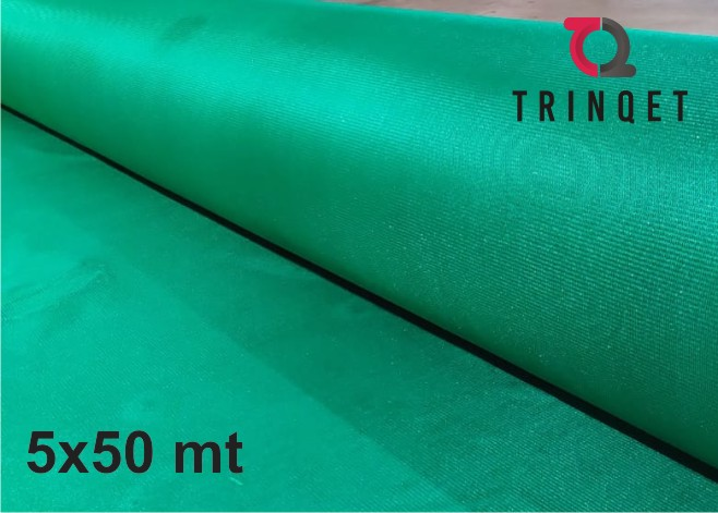 Green Garden 90%(9 gauge) Shade Net and farming ,Greenhouse UV Stabilized Net-green color-5x50 mt