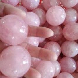 Rose Quartz Sphere Balls