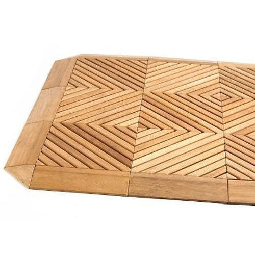 Pine Wood Deck Tiles