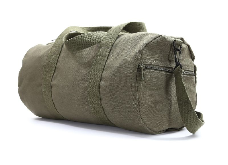 Canvas Round Travelling Duffle Bag