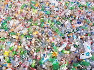 Colored PET Bottle Scrap