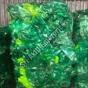 Green PET Bottle Scrap