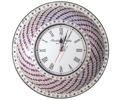 Mosaic Wall Clocks