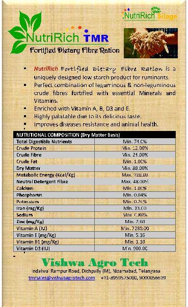 NutriRich Fortified Dietary Fibre Ration (23099010)