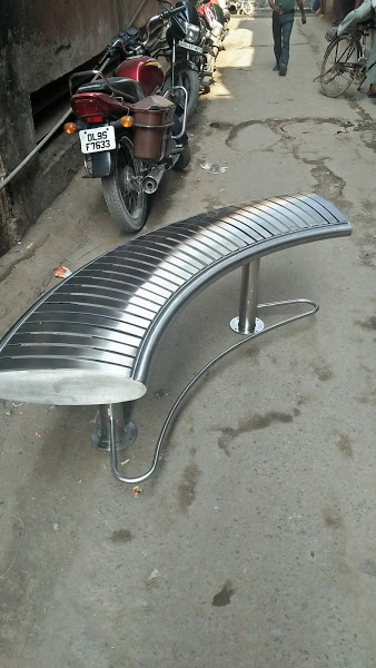 Uniqe Stainless Steel Benches