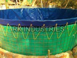 PVC Coated Biofloc Fish Tank