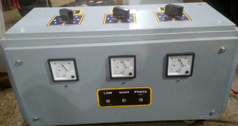 10KVA 3 Phase Air Cooled Manual Voltage Stabilizer