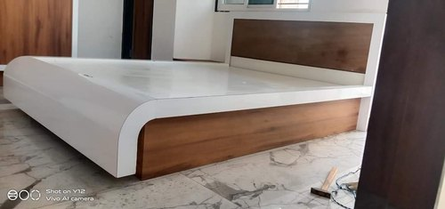 Modular Plywood Double Bed