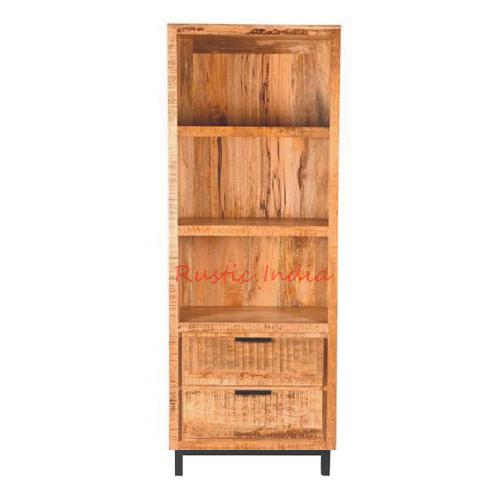 Iron & Wooden Bookshelf (9016)