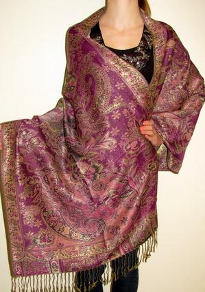 Silk Pashmina Shawl