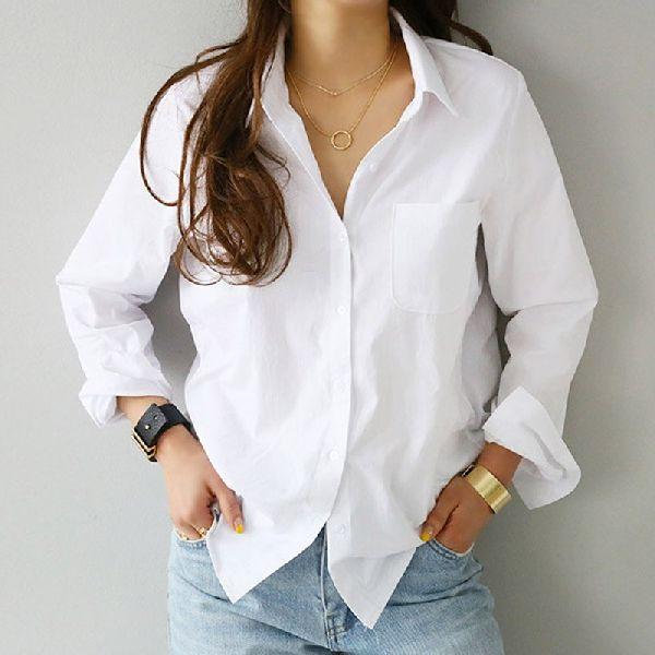 Ladies White Shirts
