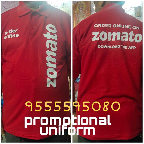 Promotional Zomato T Shirts (Zomato Tshirt)