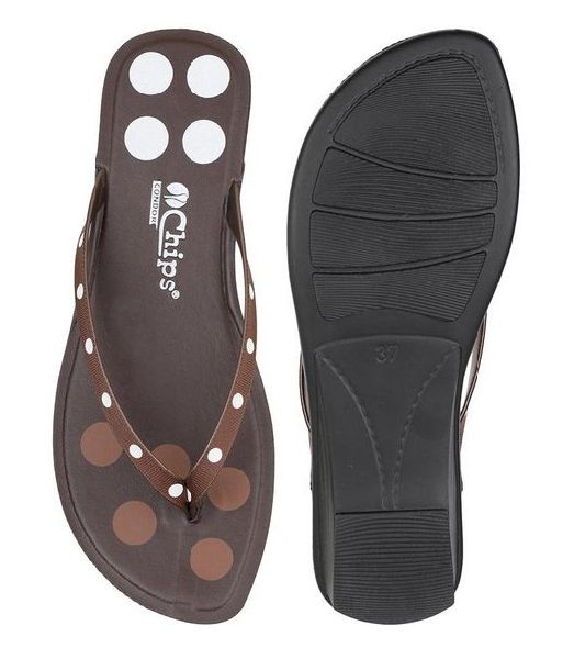 2143 Chips Ladies Slippers