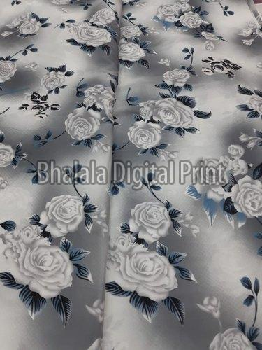 Teby Silk Digital Printed Fabric