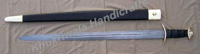 Buy Ds38 Damascus Viking Sword From Khukriwala Handicrafts Dehradun