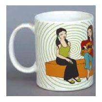 Stoneware Milk Mugs