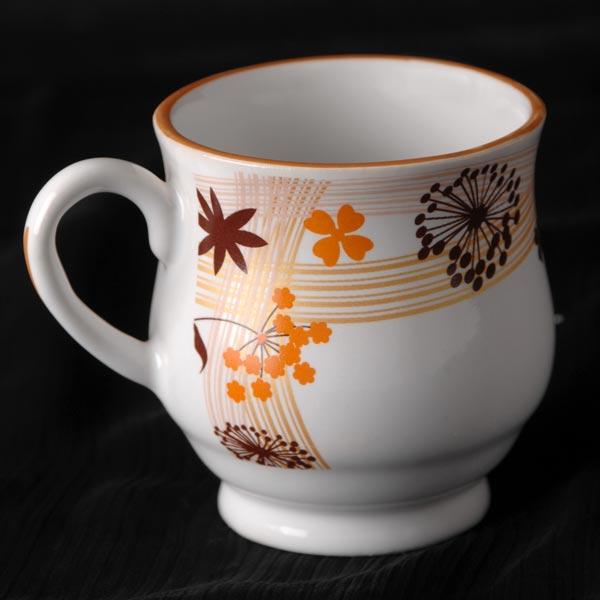 Stoneware Super China Cups