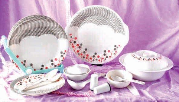 Stoneware Melamine Dinner Set