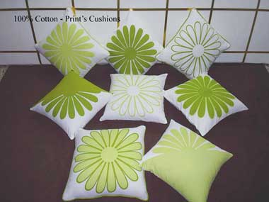 Cotton Printed Cushions