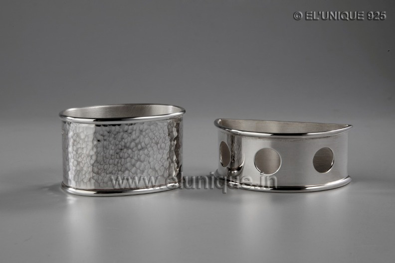 Sterling Silver Napkin Rings