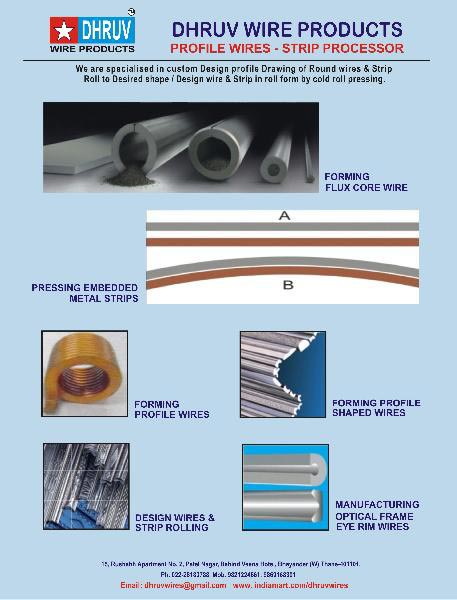 Services - Profile / Shaped wire / strip rolling services in Thane ...