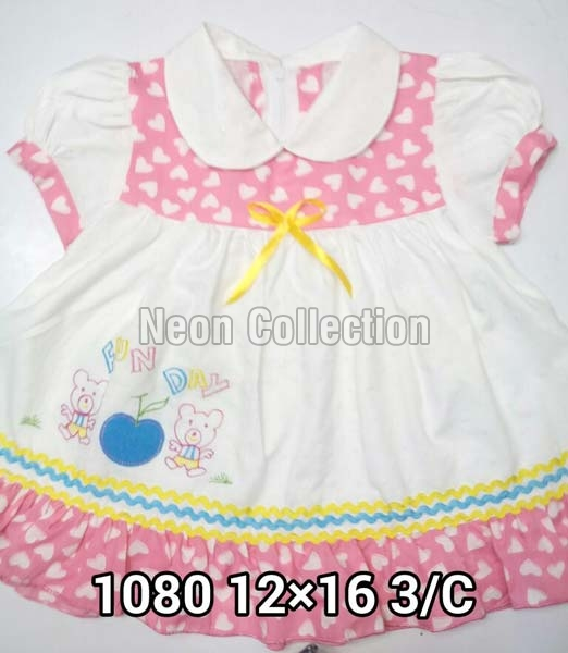 39e1863703ec Buy Cotton Baby Frocks (12X16 CM) from Neon Collection