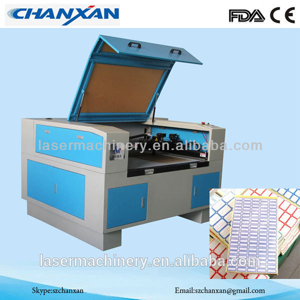 Label Die Laser Cutting Machine Manufacturer Exporters
