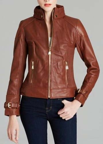 Ladies Leather Jacket Manufacturer & Manufacturer from, India | ID ...
