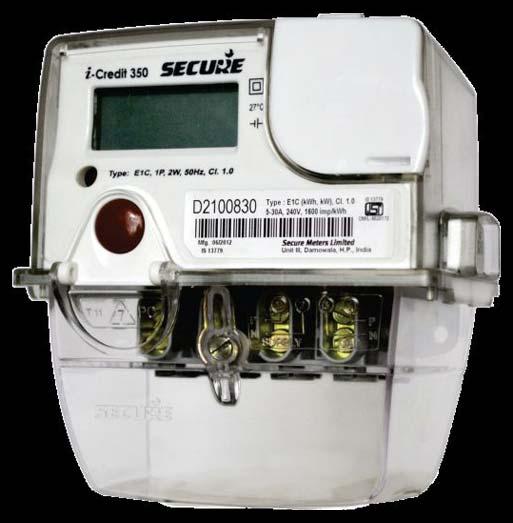 Single Phase Static Energy Meter