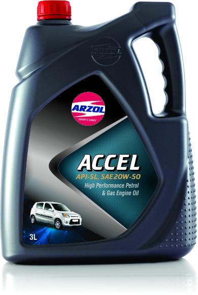 3 Litre Accel Engine Oil