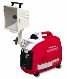 Buy Honda EU1000i Generator with Low Profile Beta 750 Watt Light ...