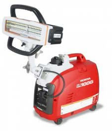 Honda EU1000i Generator with SceneStar LED Light Kit