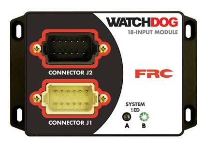 Watchdog fire truck Compartment Door & Equipment Monitor (WDA108-A08)