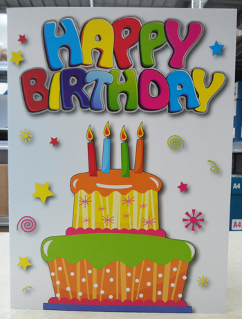 Buy Giant Birthday Cards From Anmatto Wholesalers Ltd Cyprus Id