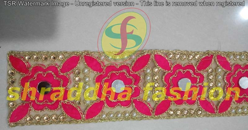 Embroidered Laces Manufacturer In Surat Gujarat India By Shraddha