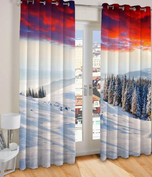 Digital Printed Curtain MO 009
