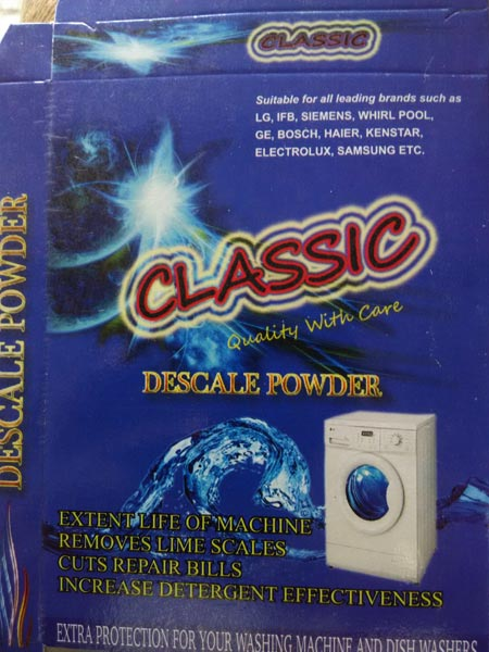 Washing Machine Drum Clean Powder (www.v99.in/12244)