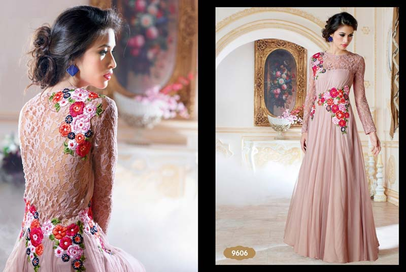 7a103c36da Buy Ladies Party Wear Gown from Durga Collection