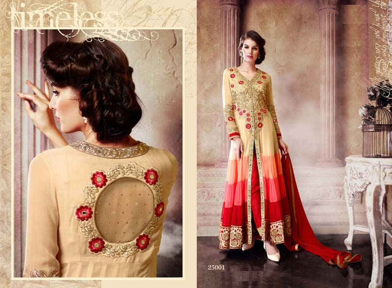 f82a16cb98 Buy Ladies Straight Cut Suits from Durga Collection, India | ID ...