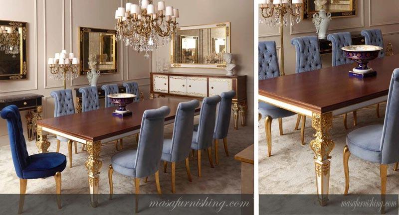 Italian Dining Table Set