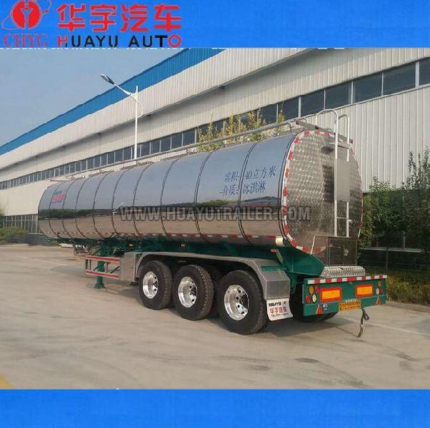 3  axle stainless steel fuel tanker semi trailer (87164000)